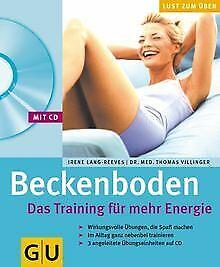 Beckenboden. Das Training für mehr Energie (mit CD): Das...   Buch   Zustand gut