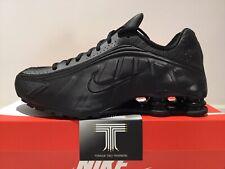 Nike Shox R4 ~ Triple Black ~ BV1111 001 ~ Uk Size 10