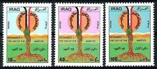 IRAQ IRAK 1985  DAY OF THE MARTYR Complete SC 1210 Set MNH