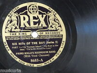 78rpm PRIMO SCALA ACCORDEON BAND hits of the day series 2 , 8683
