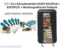 Hazet juego de destornilladores 810spc/6 destornillador