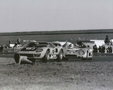 Vintage 8 X 10 Daytona 1970 Ford GT40 & Matra-Simca MS650 Auto Racing Photo