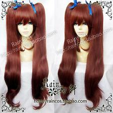 Another Akazawa Izumi Anime Cosplay Wig 80cm with ponytails + Free Cap + Track