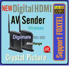 High Definition HQ Digital 1080p HDMI Wireless AV Sender For Foxtel IQ3 IQ2