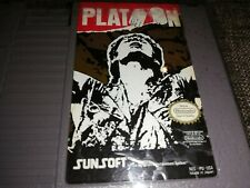 PLATOON Nintendo NES Original USA NTSC 1980s Videogame Spiel getestet!