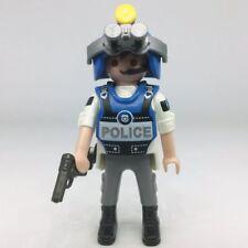 Playmobil policier américain pilote tactique