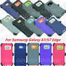 For Samsung Galaxy (S7/S7 Edge) Case Cover (Belt Clip Fits Otterbox Defender )