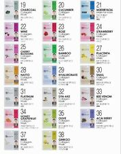 Korean Beauty Dermal Collagen Essence Face Mask Sheet Facial Pack 45PCS (Random)