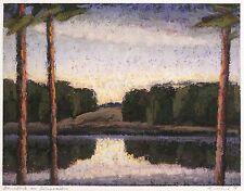 ULRICH EISENFELD - Durchblick am Grunewaldsee - Pastellmalerei 1998