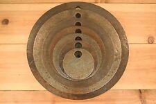 "AR500 1/2"" American Steel Shooting Targets 3""-12"" Circle Bundle Set of 7 Plates"