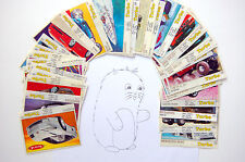 TURBO SILVER 261-330 34 PIECES VERY RARE BUBBLE GUM WRAPPER PICS