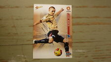 JADE NORTH HAND SIGNED NEWCASTLE UNITED A LEAGUE SOCCER CARD