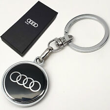 Audi Metal Key Ring Fob Chain Case Holder With Box Gift For Him Her