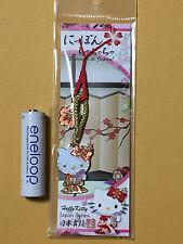 F/S Hello Kitty Giapponese Stile Giapponese Danza Portachiavi Cinghia dal Giappone