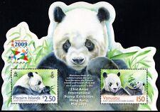 2009.Vanuatu. Panda. Hong Kong Intl.Stamp Exhibition. S/sh. MNH. Sc.976