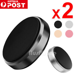 2X Universal Magnetic Magnet Car Phone Holder Mount Stand For GPS iPhone Samsung