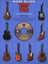 More Blues Jam Trax for Guitar TAB Book/CD 12 Extended Jams Play-Along Backup