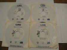 The Cars/ Lot of Four Promo 45s WLP/ Elektra/ Canada