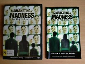 The Marketing of Madness DVD Big Pharma Conspiracy Psychiatric Drugs Suicide