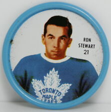 1962 – 1963 Shirrif Hockey Coin – #21 Ron Stewart – Toronto Maple Leafs