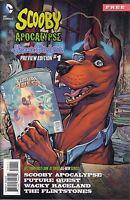 Scooby Apocalypse  #1 Preview  Future Quest Flintstones More! DC Comics  VF/NM