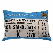 Manchester City FC Match Day Cushion Football team Club Ideal for Sofa Chair