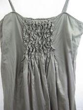 David Lawrence Size 12 Ruffled Cotton Dress