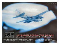 AOA decals 1/48 INTRUDERS FROM THE BEACH USMC A-6A Intruders in the Vietnam War