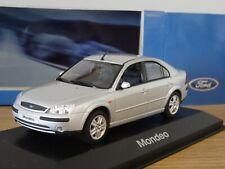 MINICHAMPS FORD MONDEO MK3 SALOON SILVER 2000 CAR MODEL 433 080003 1:43