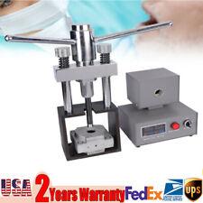 Dental Flexible Denture Dentistry Injection System Machine Lab Equipment 110V US