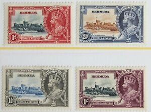 Bermuda – 1935 – Silver Jubilee – Very Lightly Mounted Mint – (R6-E)