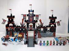 LEGO KNIGHTS KINGDOM 8877- VLADEK'S DARK FORTRESS- 100% COMPLETE W/INSTRUCTIONS