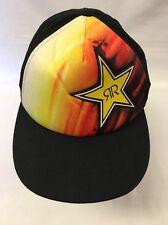 Rockstar Fox Racing Baseball Hat Snap Back Logo Cap NICE!