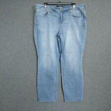 Torrid Premium Skinny Capri  Womens Jeans Plus Size 20  Light Wash Distressed