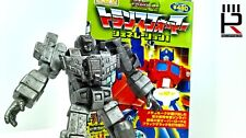 2001 Transformers Takara SCF / HOC Pewter ACT 5 - G1 DEVASTATOR statue WITH BOX!