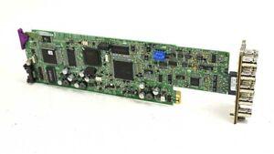 Miranda ENC-1101 SDI to Composite/CAV/RGB Encoder for Densite Frame + Backplane