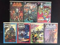Punisher 7 Graphic Novels Bloodlines Ghosts of Innocents Hearts of Darkness