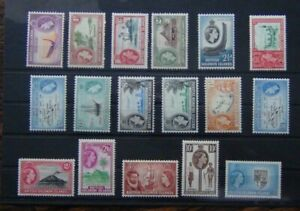 Solomon Islands 1956 - 63 set to £1 MM SG82 - SG96