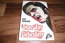 DAN SHOCKER -- DRACULAS LIEBESBISS // Larry Brent Taschenbuch # 13 / 1974