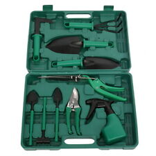 7Pieces Garden Tools Set Heavy Duty Gardening Tools Kit Non-Slip Handle W/ Case