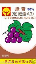 Gibberellic Acid GA3 90% 10g plant hormone PGR Tissue Culture TC