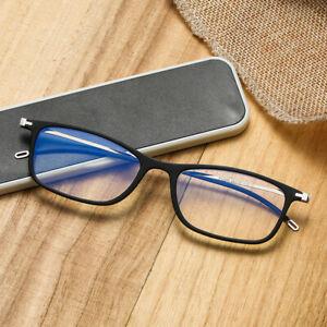 New Ultra-thin Paper Reading Glasses Portable Pocket Computer Eyewear Anti Blue