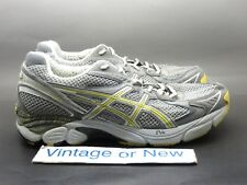 Women's Asics GT 2160 Trail Silver Grey Yellow Trail Shoes T159N sz 7