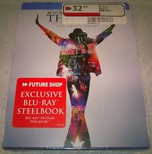 Michael Jackson's This Is It (2010, Canada) Futureshop Esclusivo Steelbook Nuovo