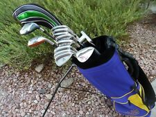 Men's TaylorMade 13pc Complete Golf Club Set Driver Wood Hybrid Irons Ping Bag