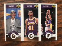 1996-97 Upper Deck Kobe Bryant RC Campbell & Fisher GOLD Basketball Card #L1