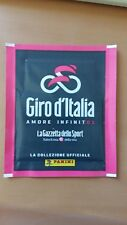 Pochette Panini Giro 2018 101ème Edition Cyclisme Italie Velo