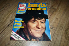 Bild und Funk Nr.45/1969 TB Manolito,Maria Schell