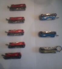1 Red Gerber Dime Multi-Tool Knife Tweezers Pliers Scissors 10 Tools