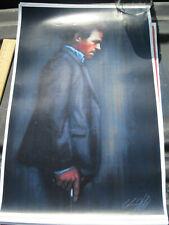 "Digital Art Print - Pop Culture Poster 17"" x 11"" - Gregory House M.D. Smoking"